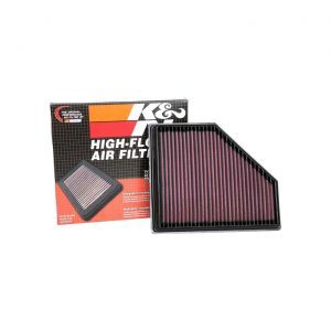 K&N 33-3136 Replacement Air Filter for 2019-2020 BMW Z4 / Toyota Supra