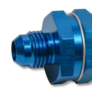 Earls 230208ERL Blue Fuel Filter w/ Screen Type Element - 85 Micron - 8 AN