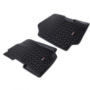 Rugged Ridge 12920.21 Front Floor Liners for 76-86 Jeep CJ / 87-95 Wrangler YJ