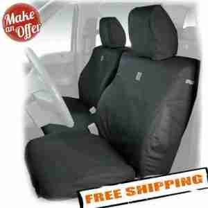 Covercraft SSC2516CAGY Front Seat Covers for 2017-2019 Ford F-250, F-350 & F-450