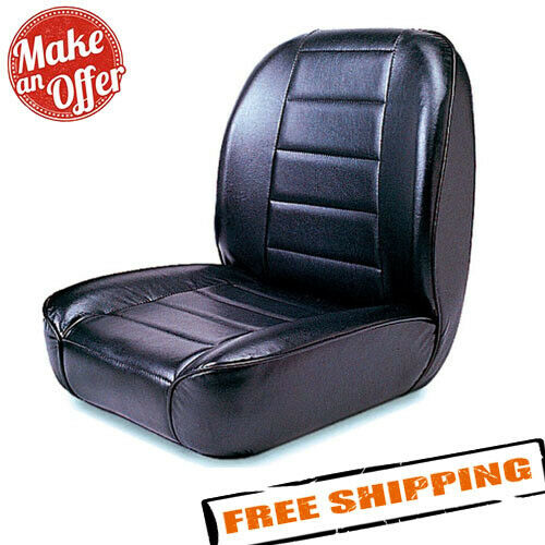 Rugged Ridge 13400.01 Seat, Low-Back, Front, No-Recline for 1955-1986 Jeep CJ