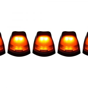 Recon 264342BK Smoked LED Cab Roof Lights Kit for 2017-2020 Ford Super Duty