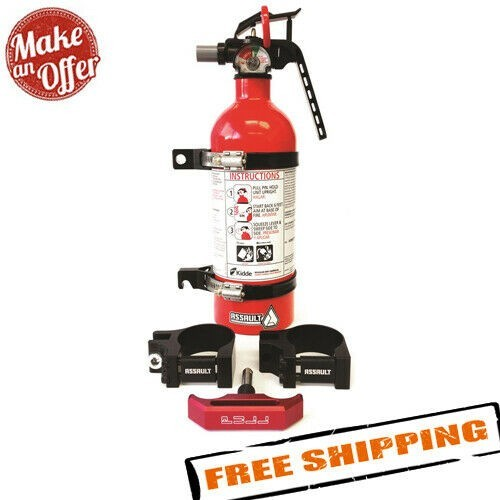 Assault Industries 101005FE01212 Quick Release Fire Extinguisher Kit - 1.75 inch