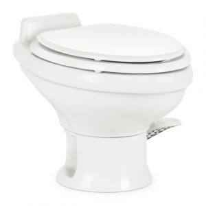 Dometic 311 Toilet, Low Profile w/o Hand Spray with Slow Close Seat - 302311681