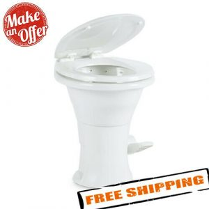 Dometic 310 Toilet with Hand Spray - White - with Slow Close Seat - 302310181