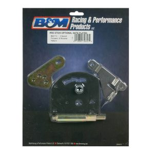 B&M 80713 Gate Plate, Shift Lever & Cable Bracket for Powerglide Transmissions