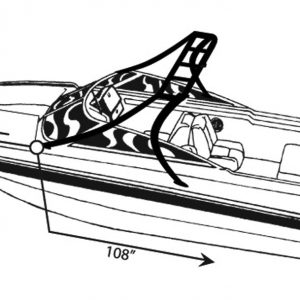 Titan Marine Products 97119P-10 Boat Cover